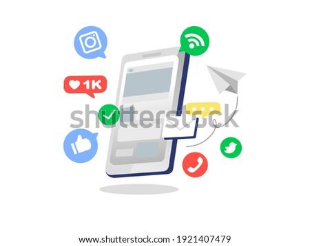 Business marketing social  presentation management Check job work Icon application multimedia software