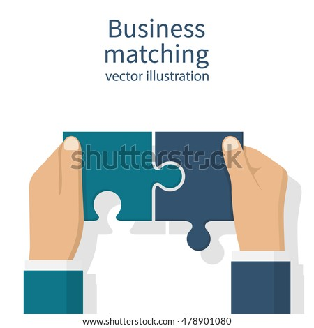 business matching concept