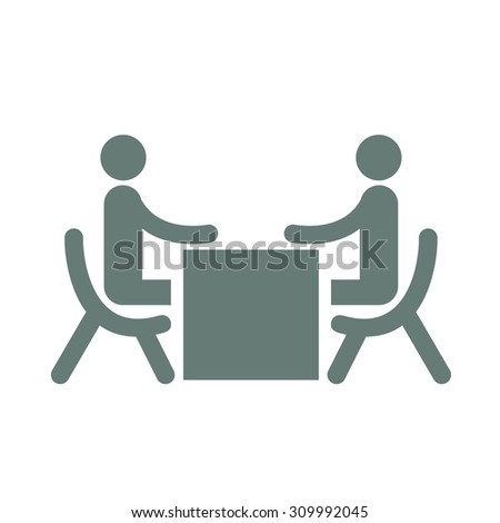 Business Meeting - Business People Sitting On Chair Facing Each Other During An Interview