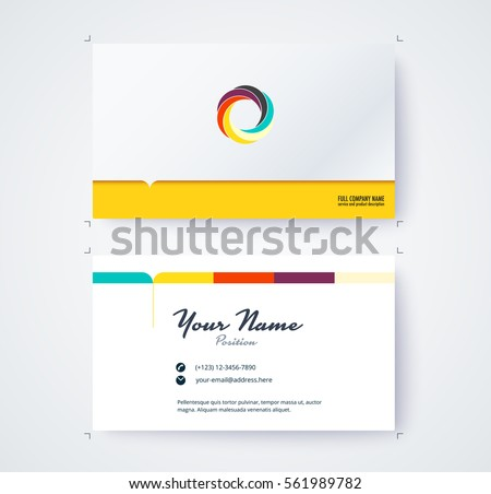 My business card vector set free vector art from vecteezy business name card template commercial design vector illustration fbccfo Choice Image