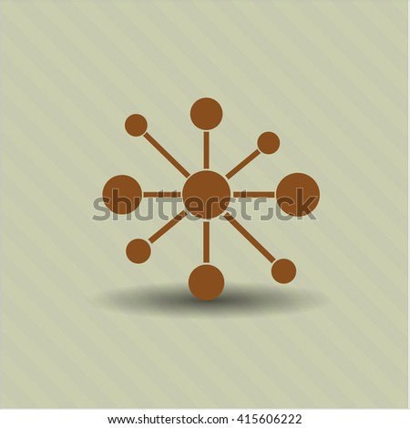 Business Network high quality icon