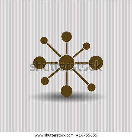 Business Network icon or symbol