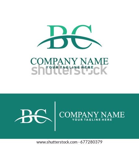 Business of B and C Initial Logo Design