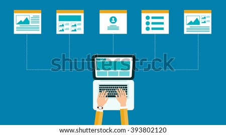 business on line content web