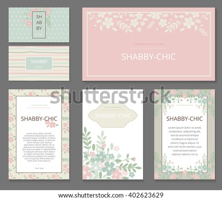 stock-vector-business-or-other-event-painted-floral-background-design-stationery-set-in-vector-format
