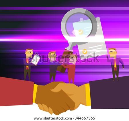 business partnership foundation