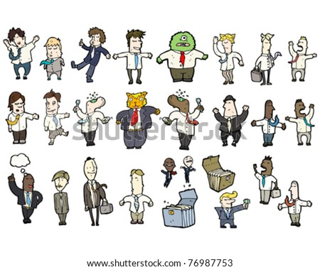 business people cartoon