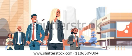 business people group diverse