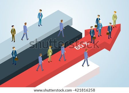 business people group standing