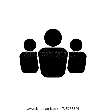 business people icon vector design isolated white