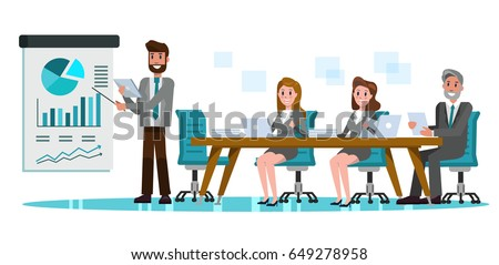 business people in meeting room