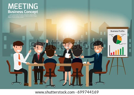 business people meeting and