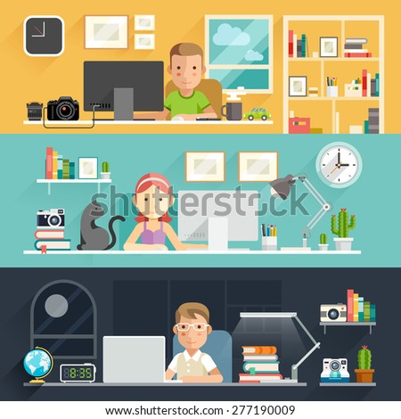 business people working on an