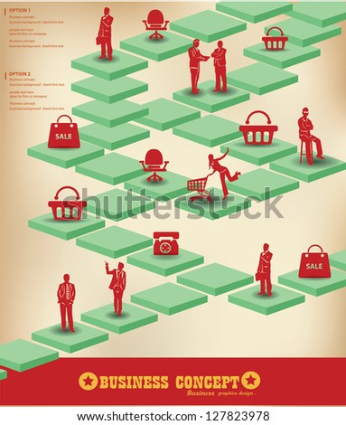 Business peoples graphics design,vector