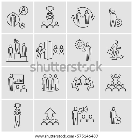 Business Personal Development Vector Icons