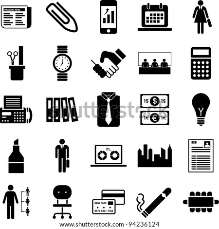 Business pictograms