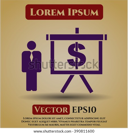 Business Presentation symbol