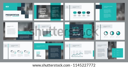 business presentation template design and page layout design for brochure ,book , magazine,annual report and company profile , with info graphic elements