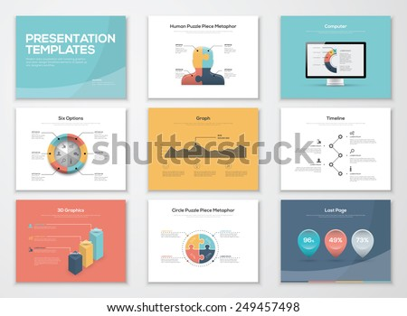 business presentation download free vector art stock graphics