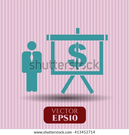 Business Presentation vector symbol