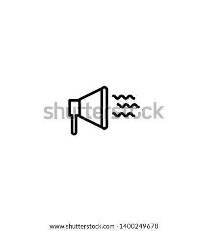 Business Promotion Icon - Black