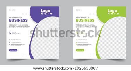 Business Promotion Social Media Post Design Template 2