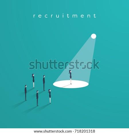 business recruitment or hiring