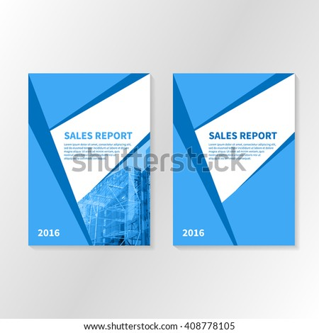 title page for business report