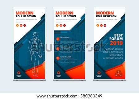 business roll up banner stand