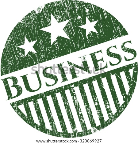 Business rubber grunge texture seal