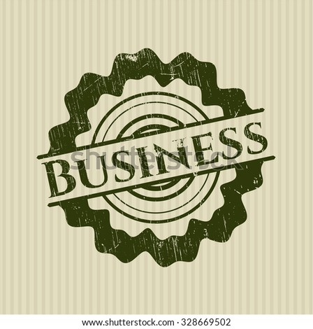 Business rubber stamp