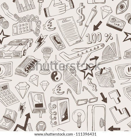 business seamless background
