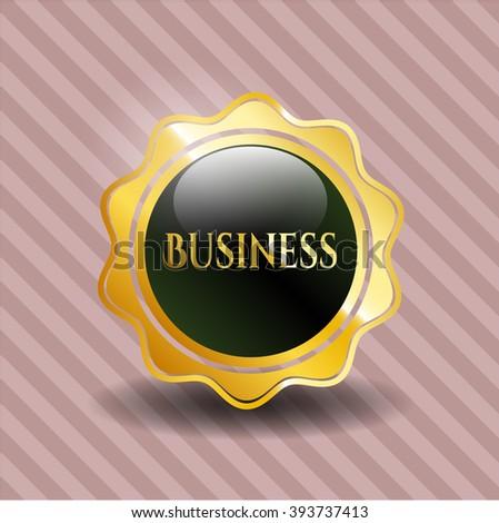 Business shiny emblem