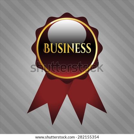 Business shiny ribbon