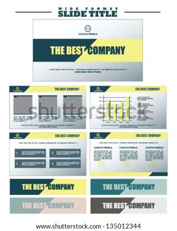 Business Slide and Presentation Titles