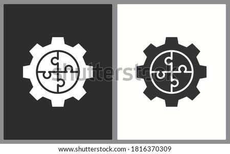Business solution icons. Vector illustration for web sites and mobile application.