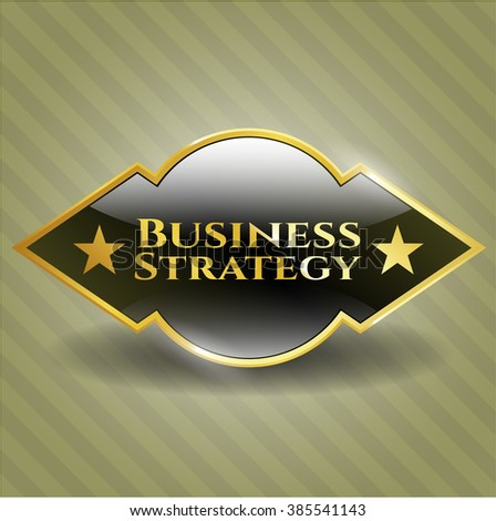 Business Strategy golden badge