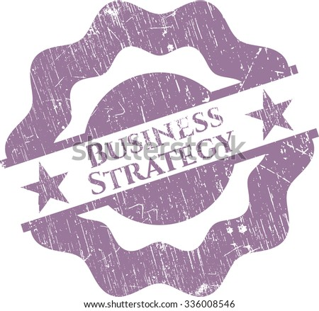 Business Strategy rubber texture