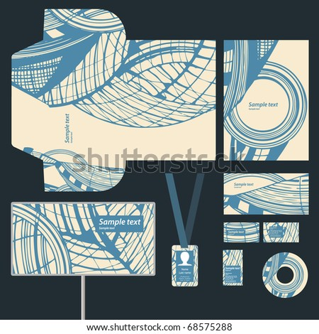 Business style, vector