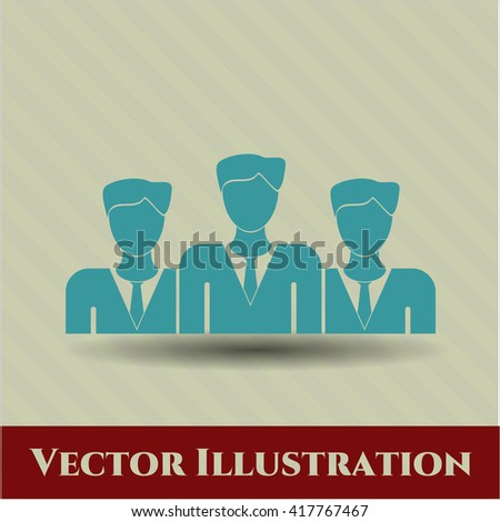 Business Teamwork vector icon