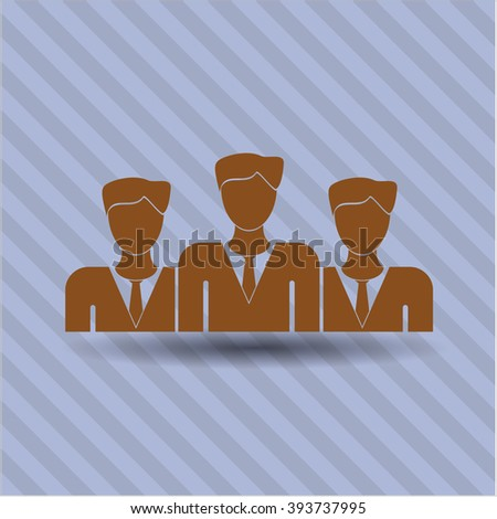 Business Teamwork vector symbol