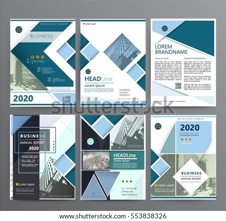 Business template for brochure, cover design,annual report, flyer or booklet. Abstract multicolored leaflet cover presentation in A4 size, abstract background of geometric vector layout, modern style #553838326