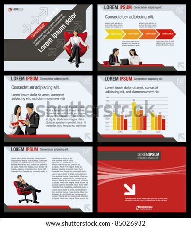 Business Template Vector illustration.