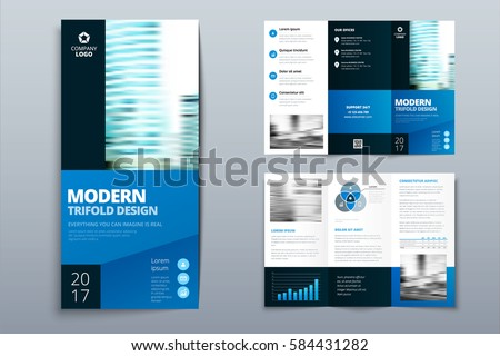 free vector tri fold brochure download free vector art stock