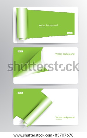 Business vector card
