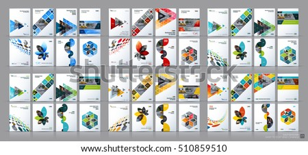 business vector mega set