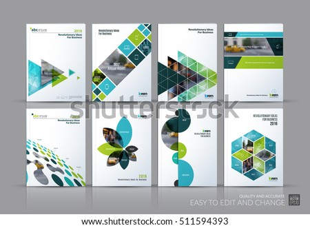 Free Annual Report Design Vector - Download Free Vector Art, Stock