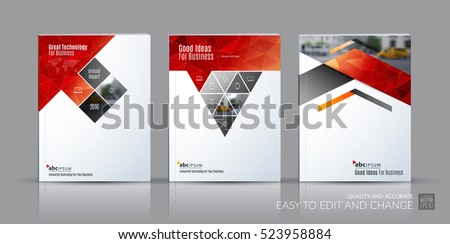 Real Estate Brochure Design Vector Illustration Download Free - Real estate brochure templates