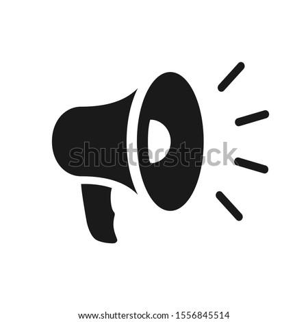 Business Web Line Icon Vector Megaphone Stock fotó ©