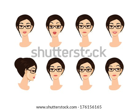 Business Woman Character Emotions